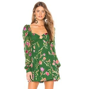 NEW Lovers + Friends REVOLVE Marcella Floral Dress